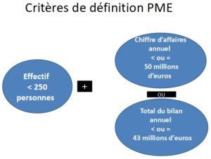 Critères de définition PME